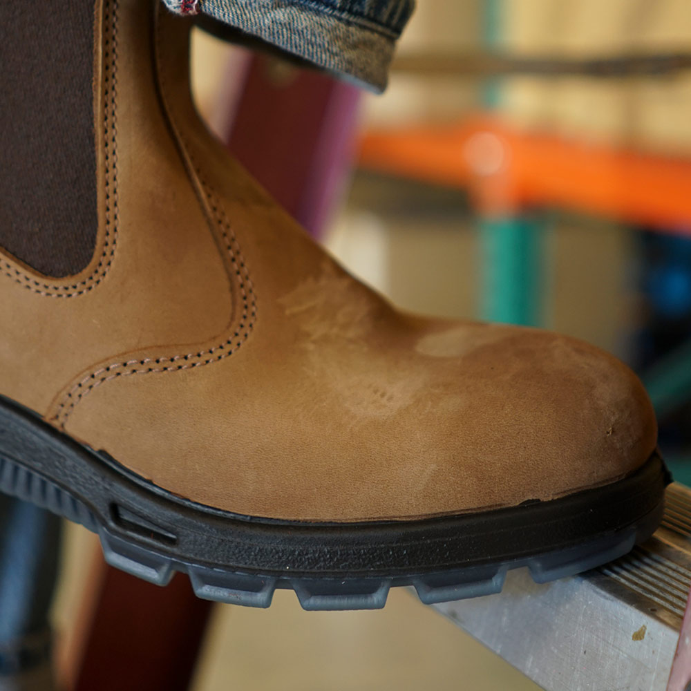 Full Grain Nubuck Leather Upper