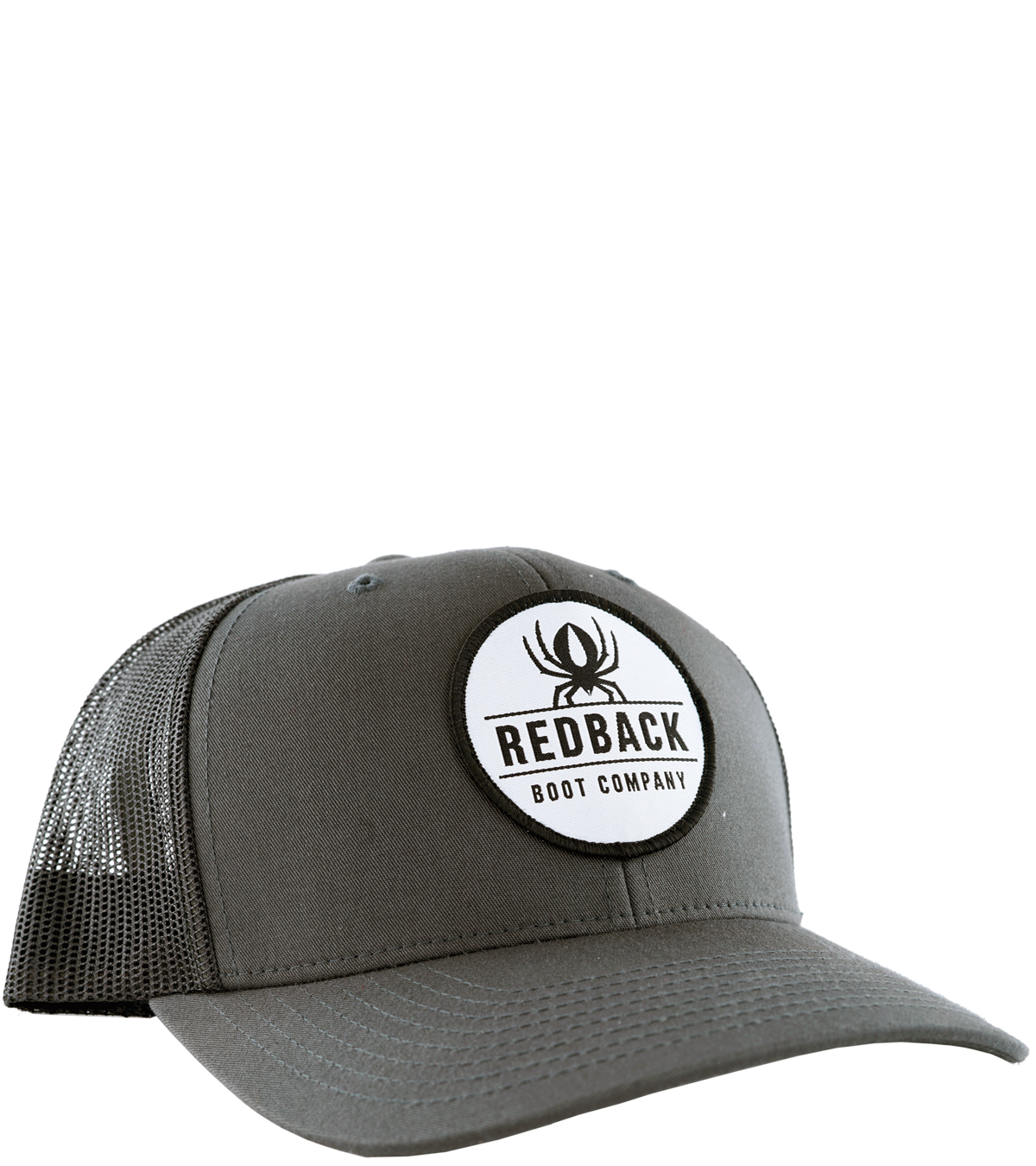 Retro Trucker Charcoal - Hero